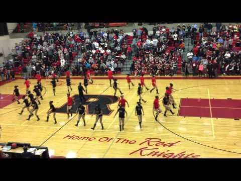 Reading High School Dance Team 2015 (RHS vs Chester game)