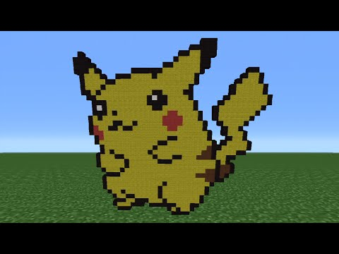 Minecraft Tutorial: How To Make Pikachu