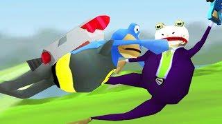 JETPACK BAT FROG vs GRAPPLE HOOK JOKE FROG - Amazing Frog - Part 102 | Pungence