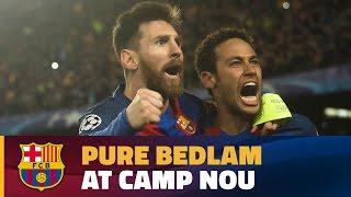 FC Barcelona - PSG (6-1): Final celebrations at Camp Nou