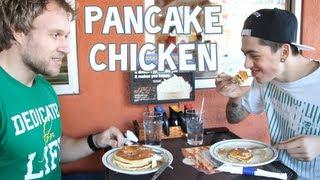 Pancake Chicken w/ Sam Pepper | Furious Pete