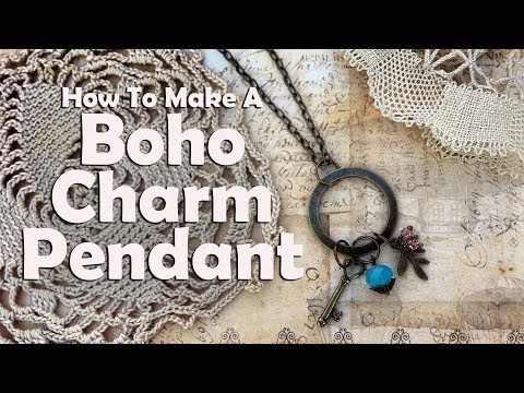 Boho Charm Pendant: Easy Jewelry Tutorial