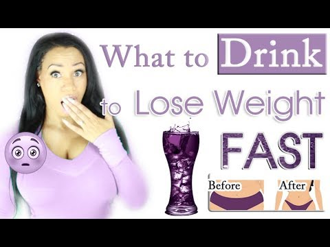 What to Drink to Lose Weight Fast