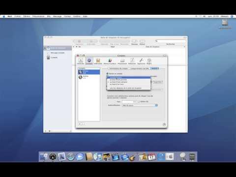 41 • Créer un nouveau compte dans Mail 2 • Mac OS X Tiger (tutoriel vidéo)