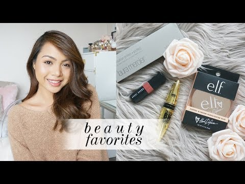 Current Beauty Favorites - ELF, Maybelline, Dior, Givenchy, Persona