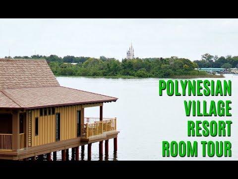 Polynesian Village Resort Room Tour + Reactions   June 2017 Walt Disney World Vacation