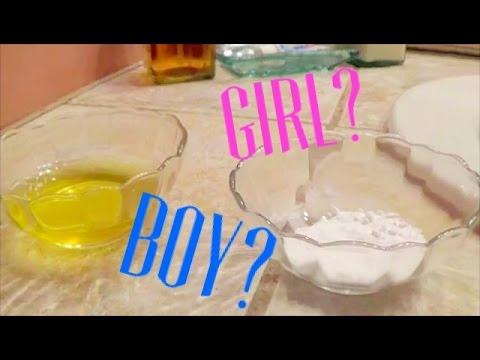 BAKING SODA GENDER TEST - 11 weeks pregnant