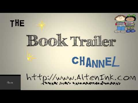 Book Trailer Channel Intro Created on PowerPoint