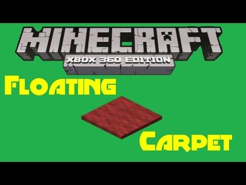 Minecraft XBOX - Floating Carpet