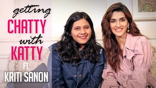 What's on My Phone with Kriti Sanon | Kriti Sanon Interview | Getting Chatty with Katty | Filmfare