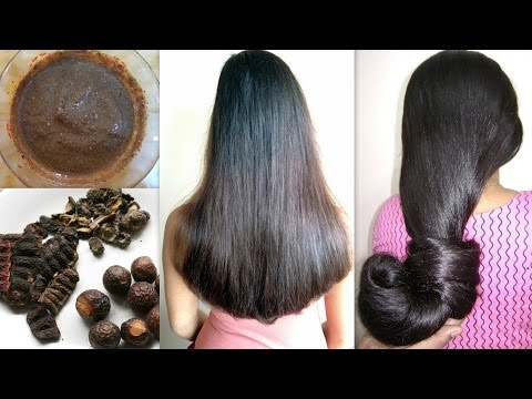 SHIKAKAI AMLA HAIR MASK for EXTREME HAIR GROWTH | How to get THICKER AND LONGER HAIR FAST AT HOME