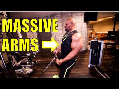 4 Exercises for MASSIVE ARMS!!!