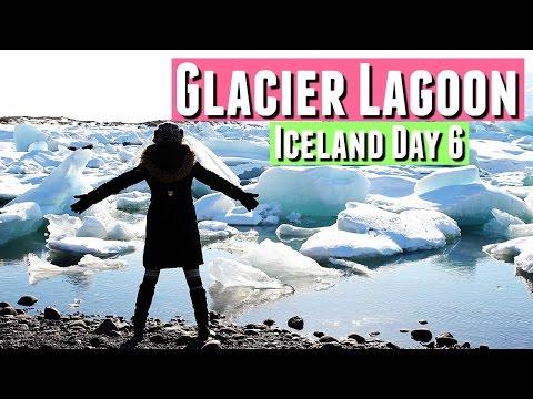 Traveling Iceland GLACIER LAGOON in Jokulsarlon Iceland DAY 6