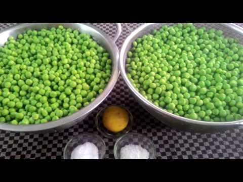 HOW TO STORE FRESH GREEN PEAS , HOMEMADE FROZEN PEAS , Recipe in Hindi By- Dr.Anamika Johari.