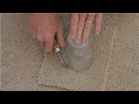 Carpet Cleaning & Installation : How to Remove Dried Acrylic Paint from Carpet