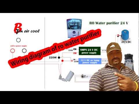 wiring diagram of ro water purifier Hindi