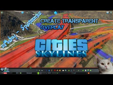 Create transparent overlay