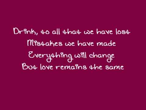 Gavin Rossdale - Love Remains the Same (with Lyrics)