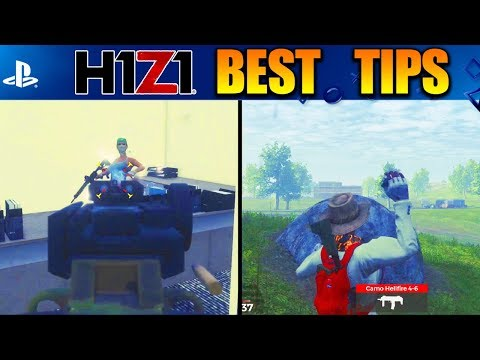 BEST H1Z1 PS4 BEGINNER TIPS! GET BETTER AT H1Z1 PLAYSTATION 4 (H1Z1 Early Game Tips)