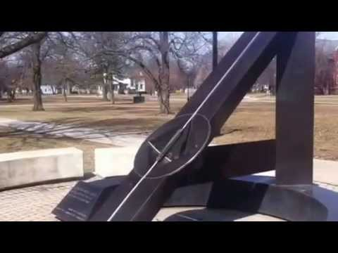 Giant Sundial at Grinnell College