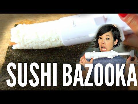 SUSHI BAZOOKA Sushezi sushi maker   Does it Work?