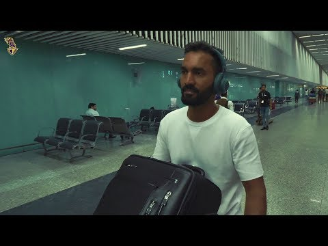 Dinesh Karthik's Arrival in Kolkata   KKR   Kolkata Knight Riders   VIVO IPL 2018