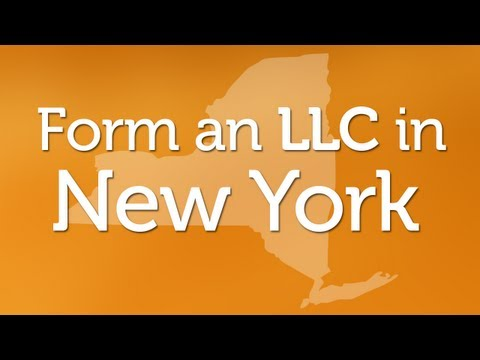 Forming an LLC in New York