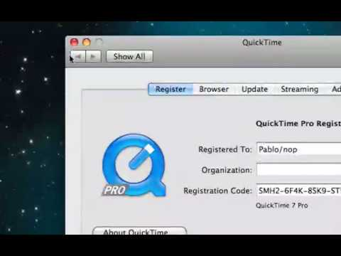 How to get quicktime pro free on os x and windows 