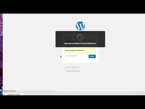 Install Wordpress Locally on Mac OS X Using MAMP
