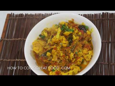 Cauliflower Curry Recipe - Gobi Masala - Vegan