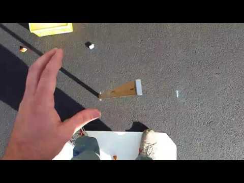 Meter stick falling