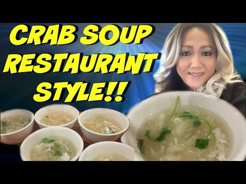 YUMMY CRAB AND FISH MAW SOUP RESTAURANT STYLE!! CAMBODIAN/ASIAN FOOD (ENGLISH VERSION)