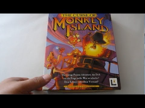 Retro Unboxing MONKEY ISLAND 3 (PC CD-ROM)