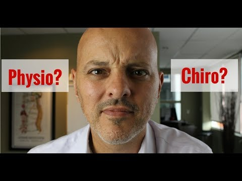 Physiotherapist or Chiropractor for Back Pain?