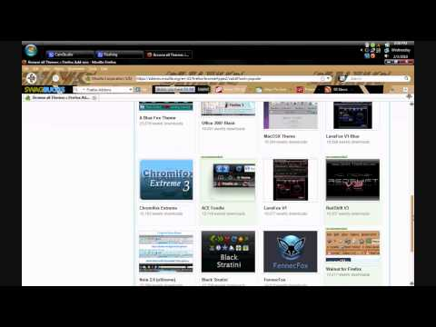 How to Change your Firefox Theme [HD]