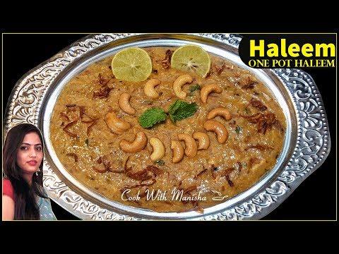 Chicken Haleem-Haleem recipe-Haleem cooked in pressure cooker-One pot Haleem-Eid special recipe