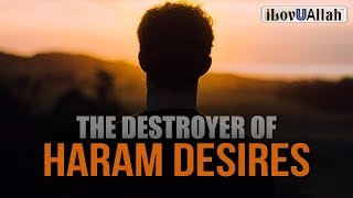 The Destroyer of Haram Desires - Mufti Menk