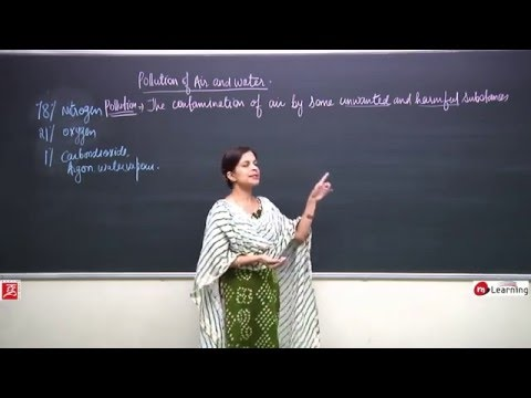 Pollution Of Air & Water: Composition of Air - Gaseous & Particle Form of Impurity - 01/11