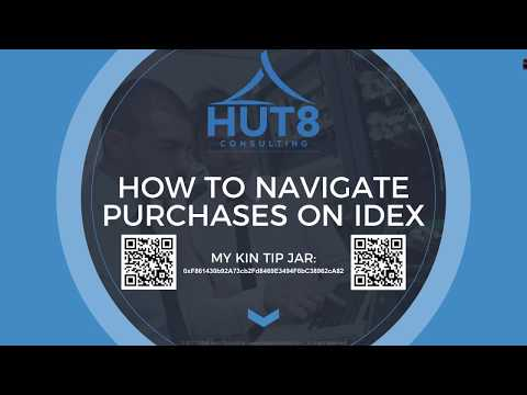A Hut8 Techtorial on Navigating the Transfer, Deposit, & Withdraw Actions on the IDEX Exchange