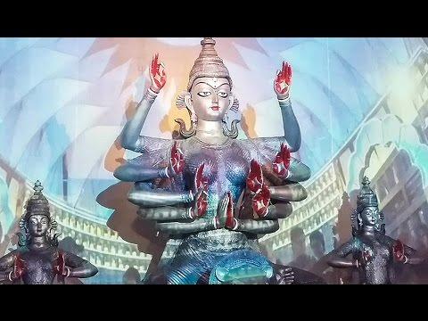 Durga Puja 2016 -95 Pally Durga Pandal Cosmic Effect