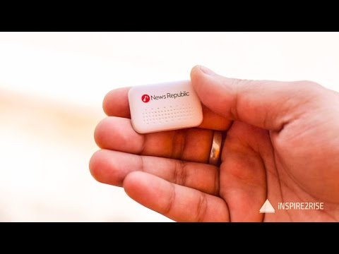 Nut Mini Smart tracker review and unboxing