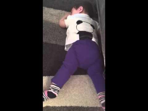 Bailey's 8 month temper tantrums