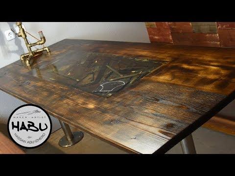 HABU \\ Rustic Dining Table