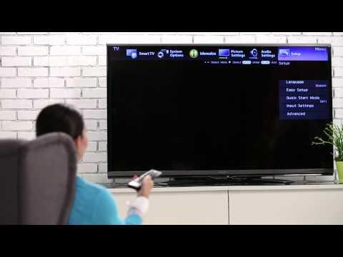 HSN | How Setup WiFi On The Sharp Aquos 60