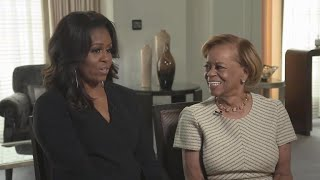 Michelle Obama's mom taught Sasha and Malia how to do laundry in White House