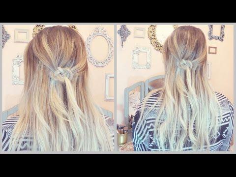 Celtic Knot Hair Tutorial