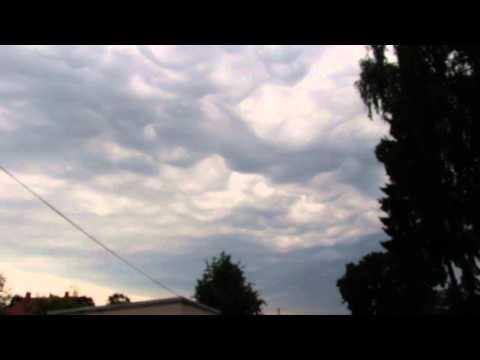Asperatus Cloud discovered in Latvia - Jurmala