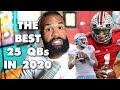 Justin Fields Spencer Rattler Sam Ehlinger And 202039s Top 25 QBs In College Football