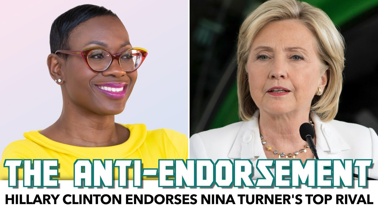 Hillary Clinton Endorses Nina Turner's Top Rival.. And That's Great News