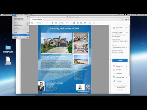 Email Your Real Estate Flyer as PDF or PNG Image (Mac Users)